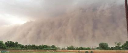 stofstorm in Niamey