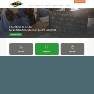 schermafbeelding website