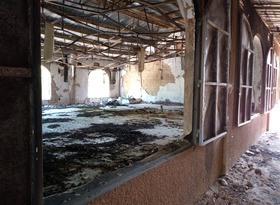 Brand in ons kerkgebouw