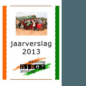 voorkant jaarverslag 2013